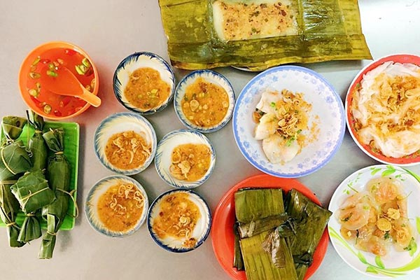 Bánh bèo, bánh nậm, bánh lọc Đà Nẵng