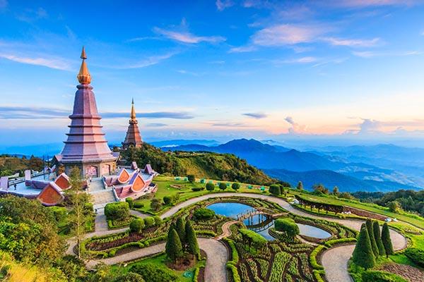 Cố đô Chiang Mai đẹp cổ kính