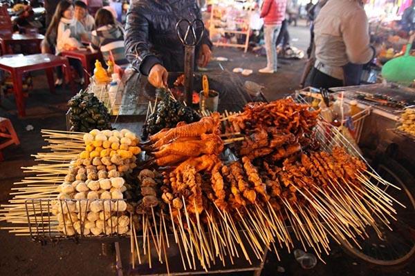 Chợ Đà Lạt điểm du lịch hấp dẫn về đêm