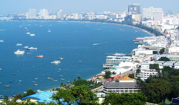 Thành phố biển Pattaya xinh đẹp