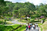 Thung lũng tình yêu địa điểm du lịch nổi tiếng ở Đà Lạt