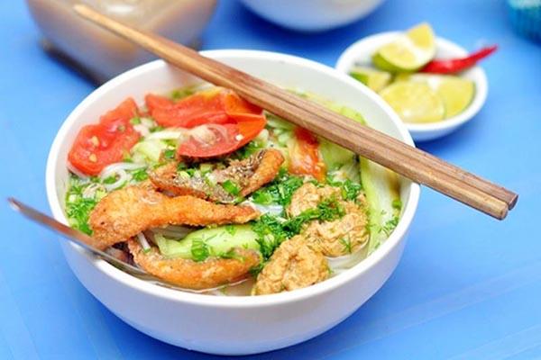 Bún cá món ăn nổi tiếng Hải Phòng