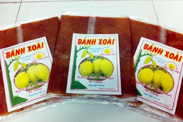 Bánh xoài đặc sản ở Nha Trang