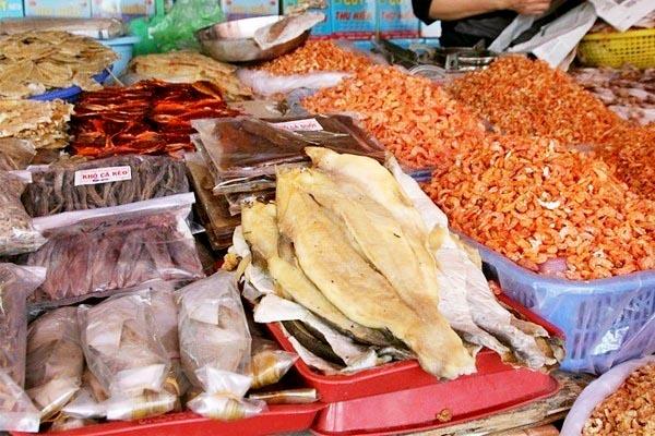 Hải sản một trong những đặc sản Phú Quốc