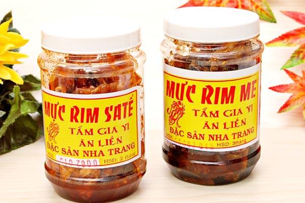 Mực rim đặc sản nổi tiếng ở Nha Trang