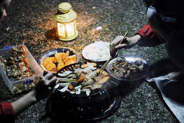 Kinh nghiệm cắm trại ở Đồng Cao