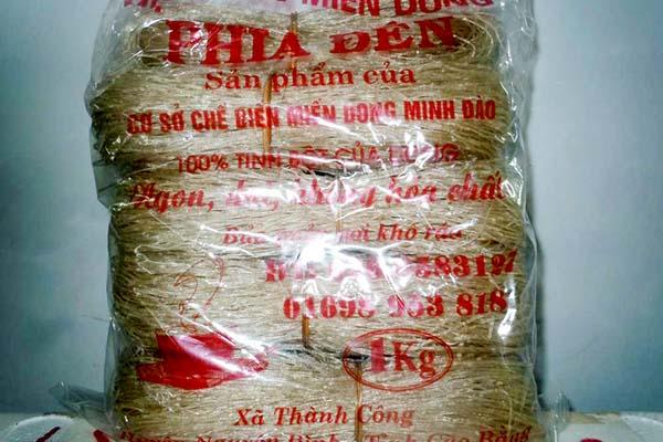 Miến dong Phia Đén